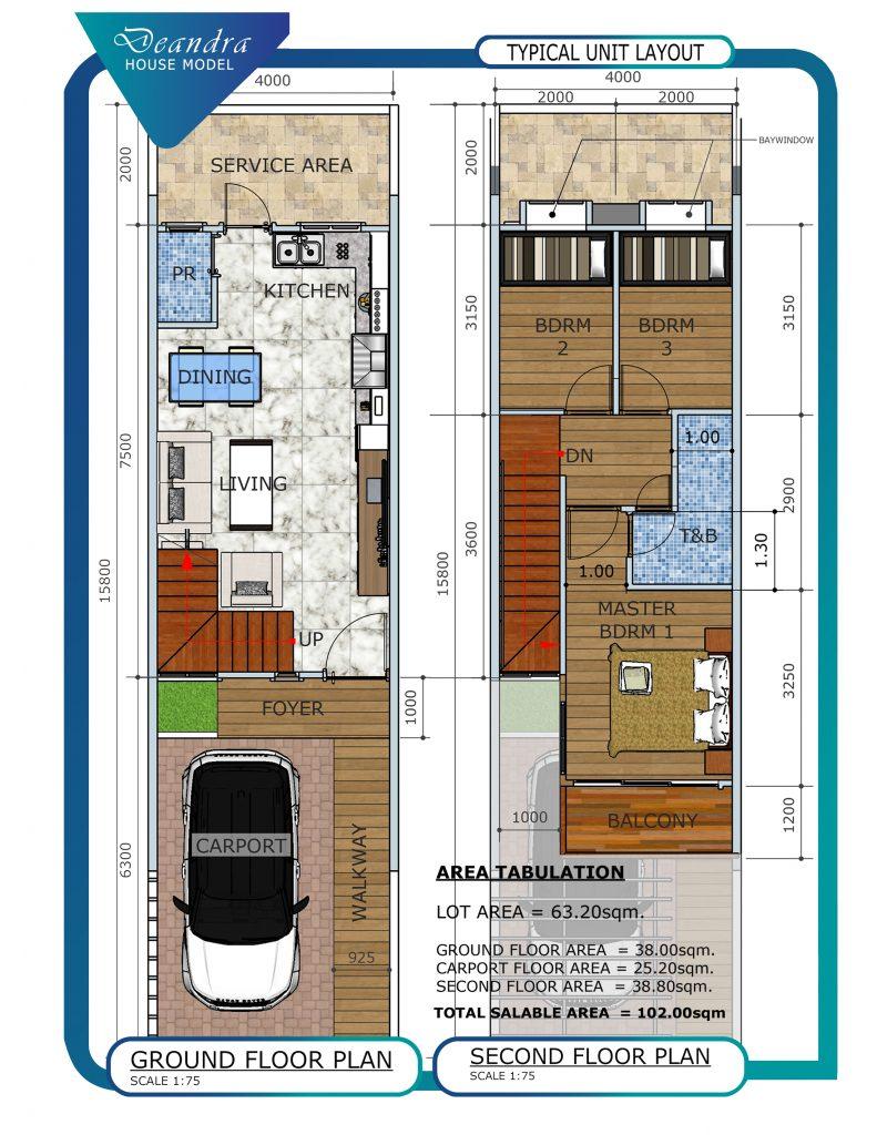La Cassandra Residences Floor Plan